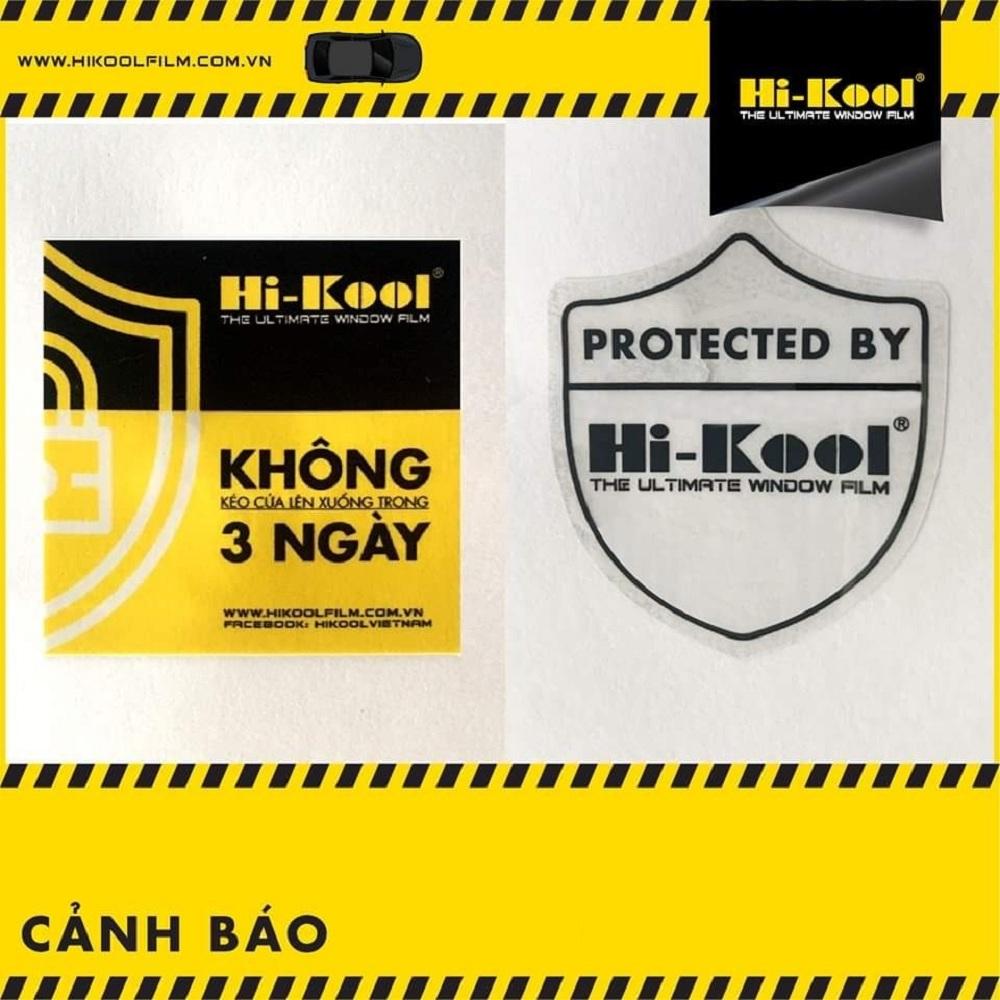 Hướng dẫn sử dụng film cách nhiệt Hi-Kool