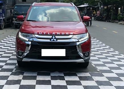 Lắp camera 360 độ cho xe Mitsubishi Outlander
