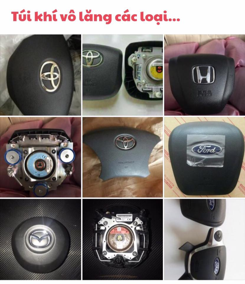 Túi khí SRS Toyota