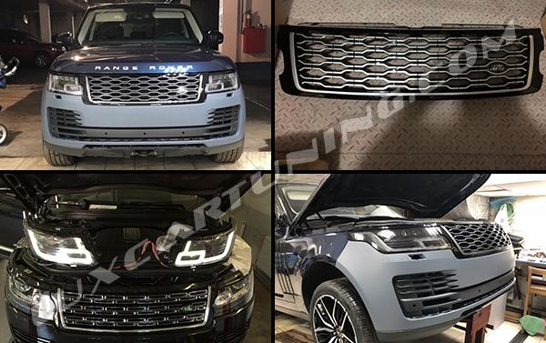 Nâng đời Range Rover Sport 2005 đến 2009 lên 2012 bản limited