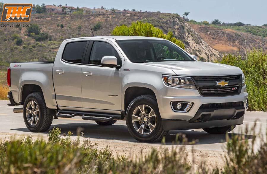 Chi phí bảo dưỡng định kỳ 80.000 km xe Chevrolet Colorado