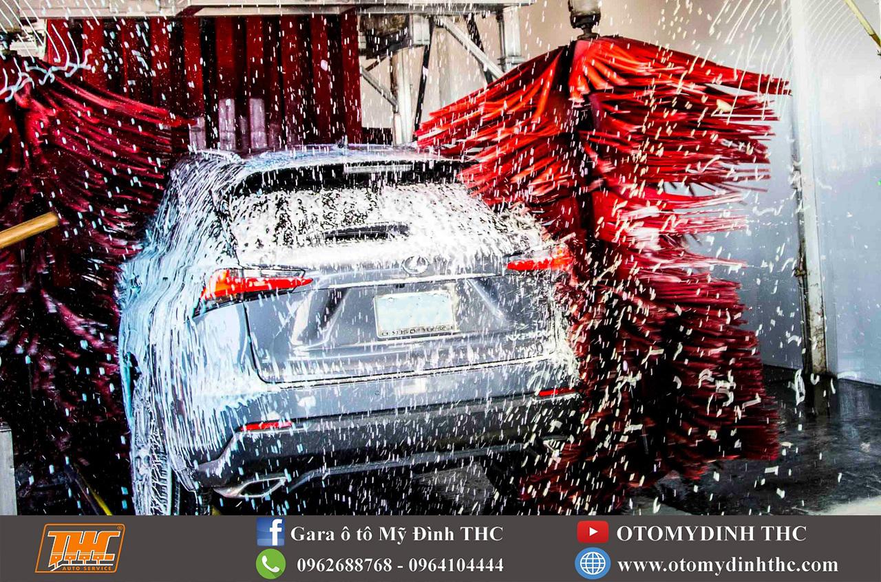 Cách chọn nơi rửa xe ô tô chuyên nghiệp
