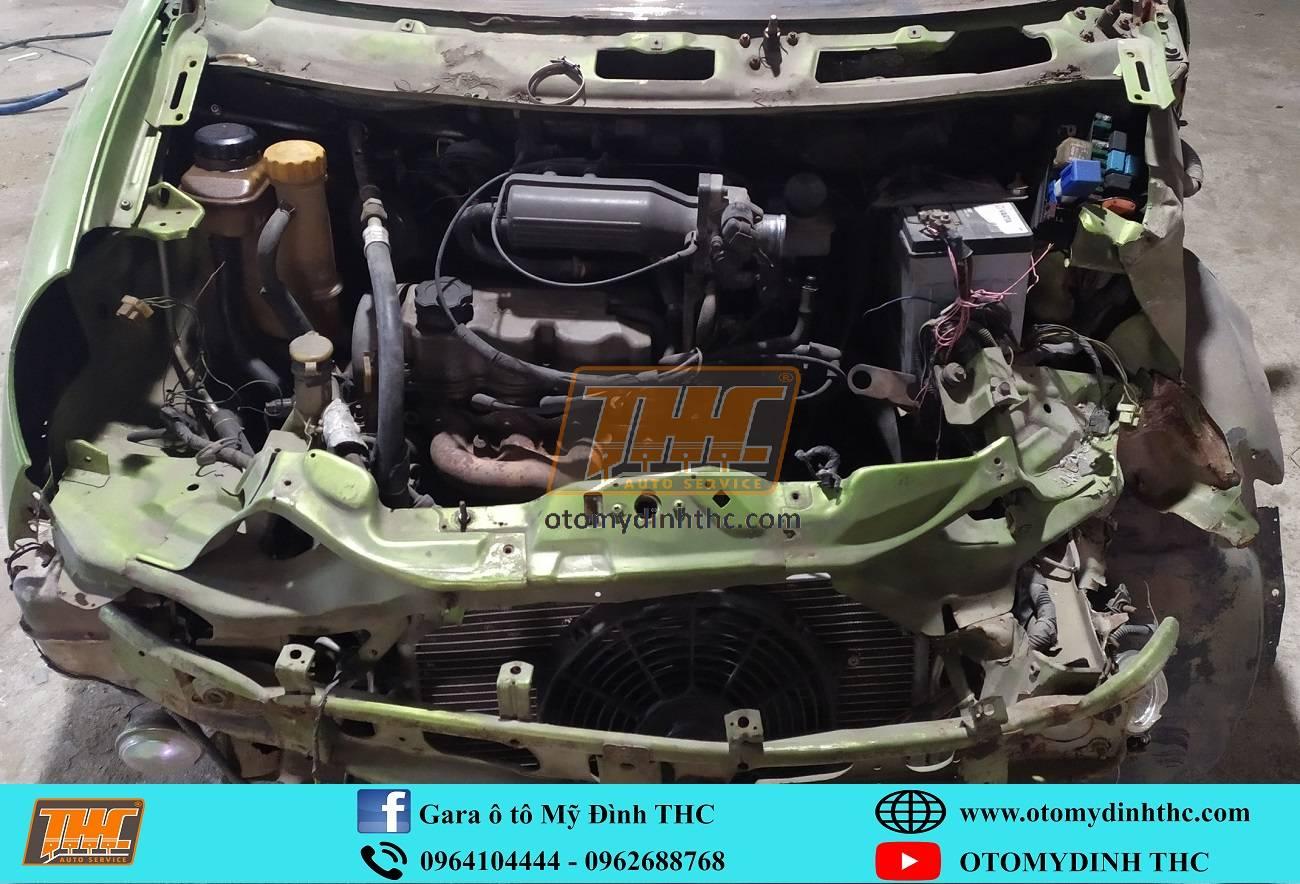Sửa chữa xe tai nạn Deawoo Matiz
