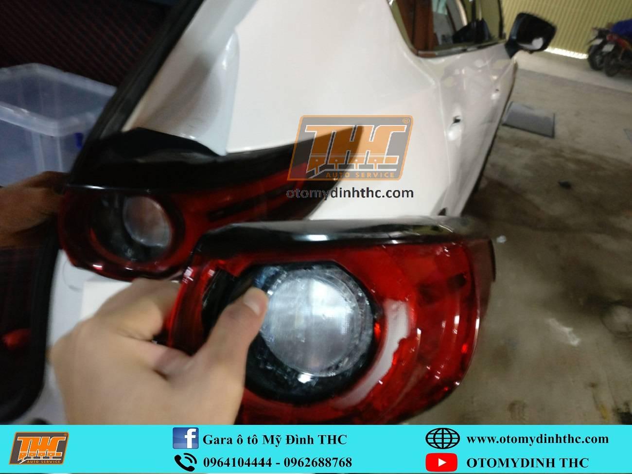Phục hồi xe tai nạn Mazda CX5