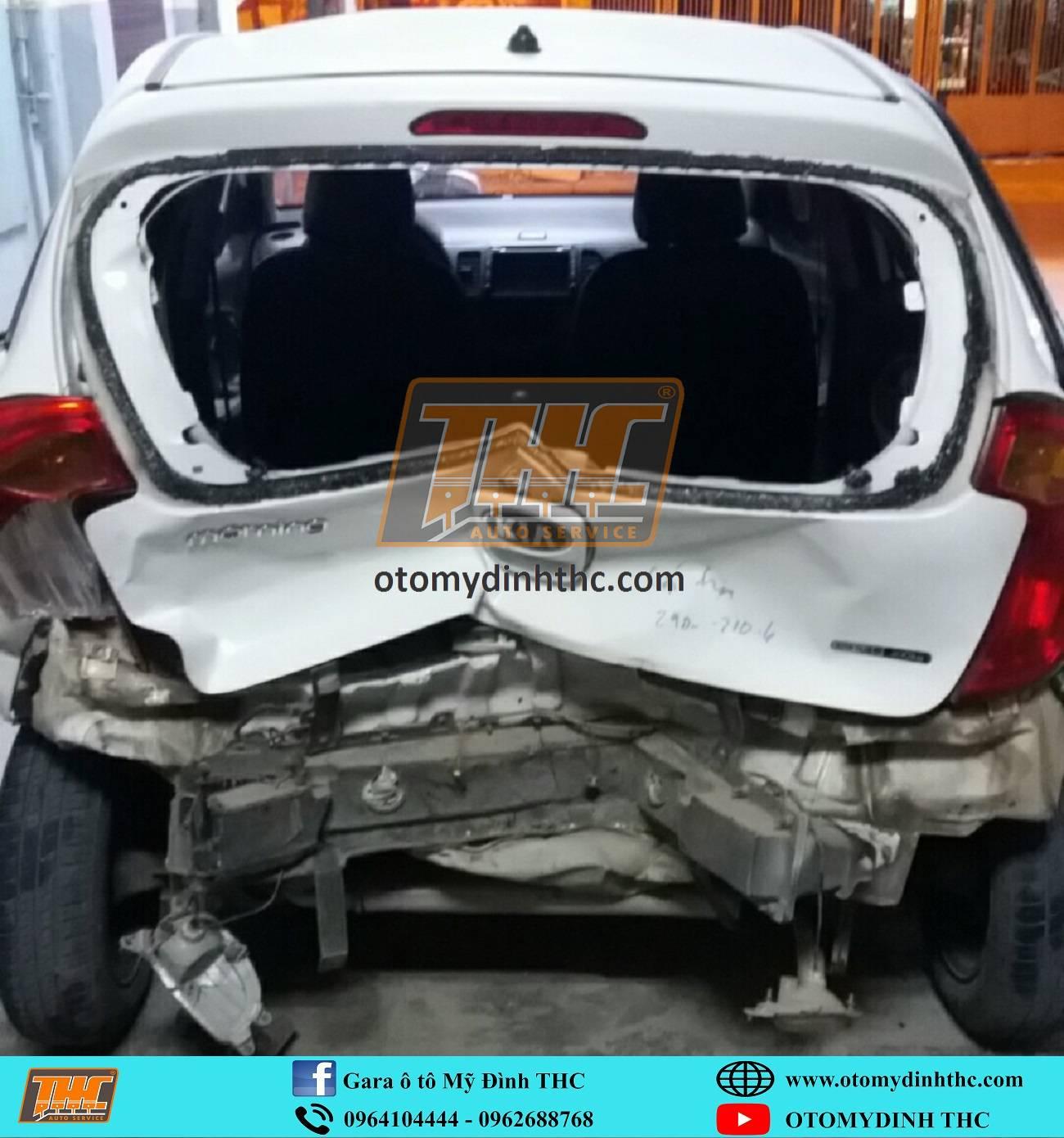 Phục hồi sửa chữa xe tai nạn