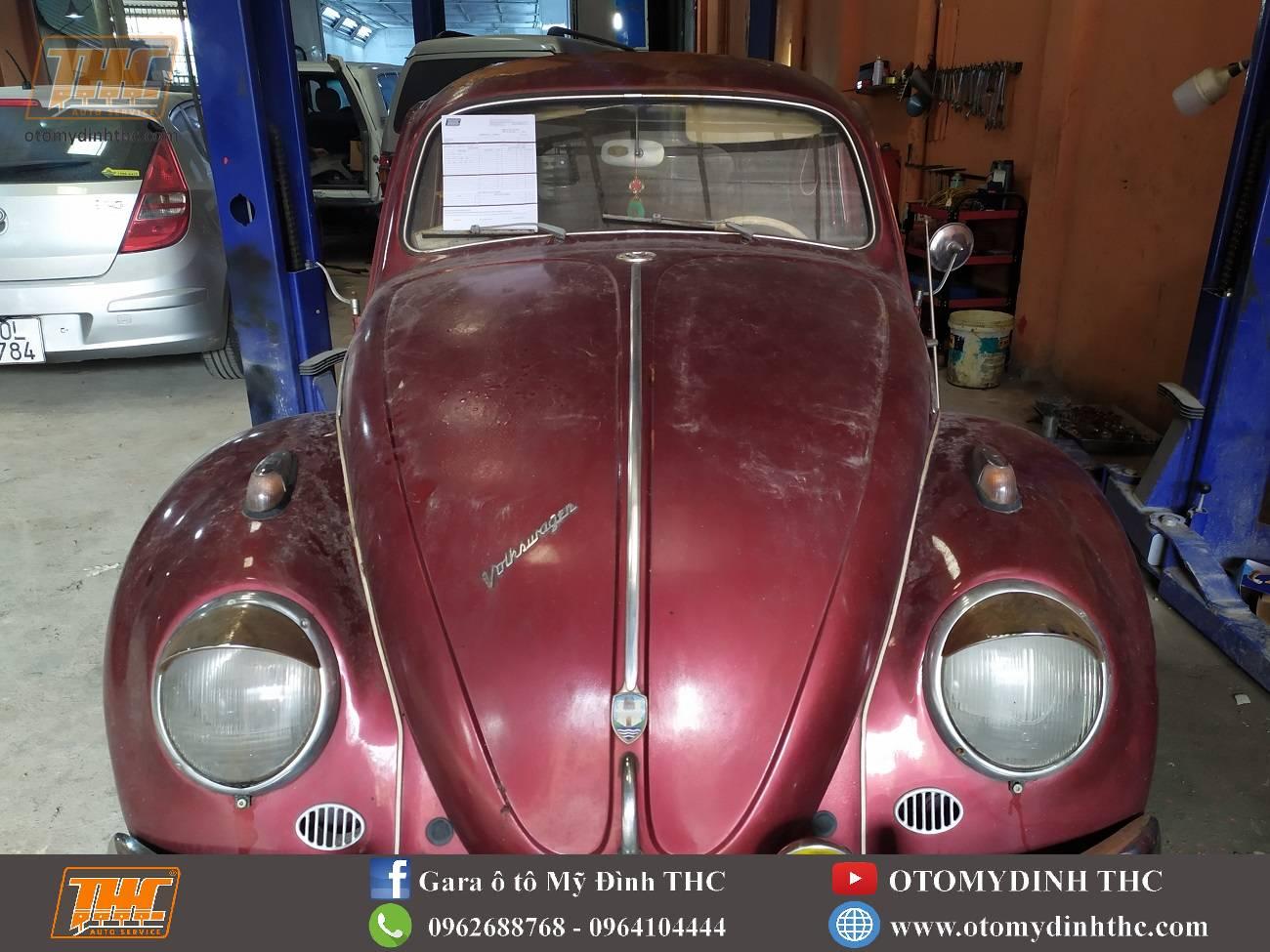 Sơn xe ô tô Volkwagens Beetle