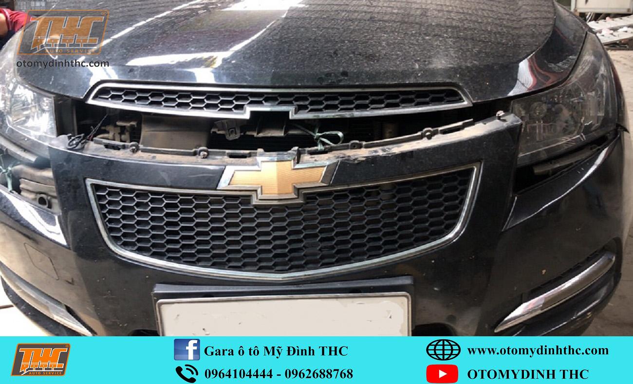 Sơn dặm Chevrolet Cruze tại Trung Tâm Kỹ Thuật Ô Tô Mỹ ĐìnhTHC