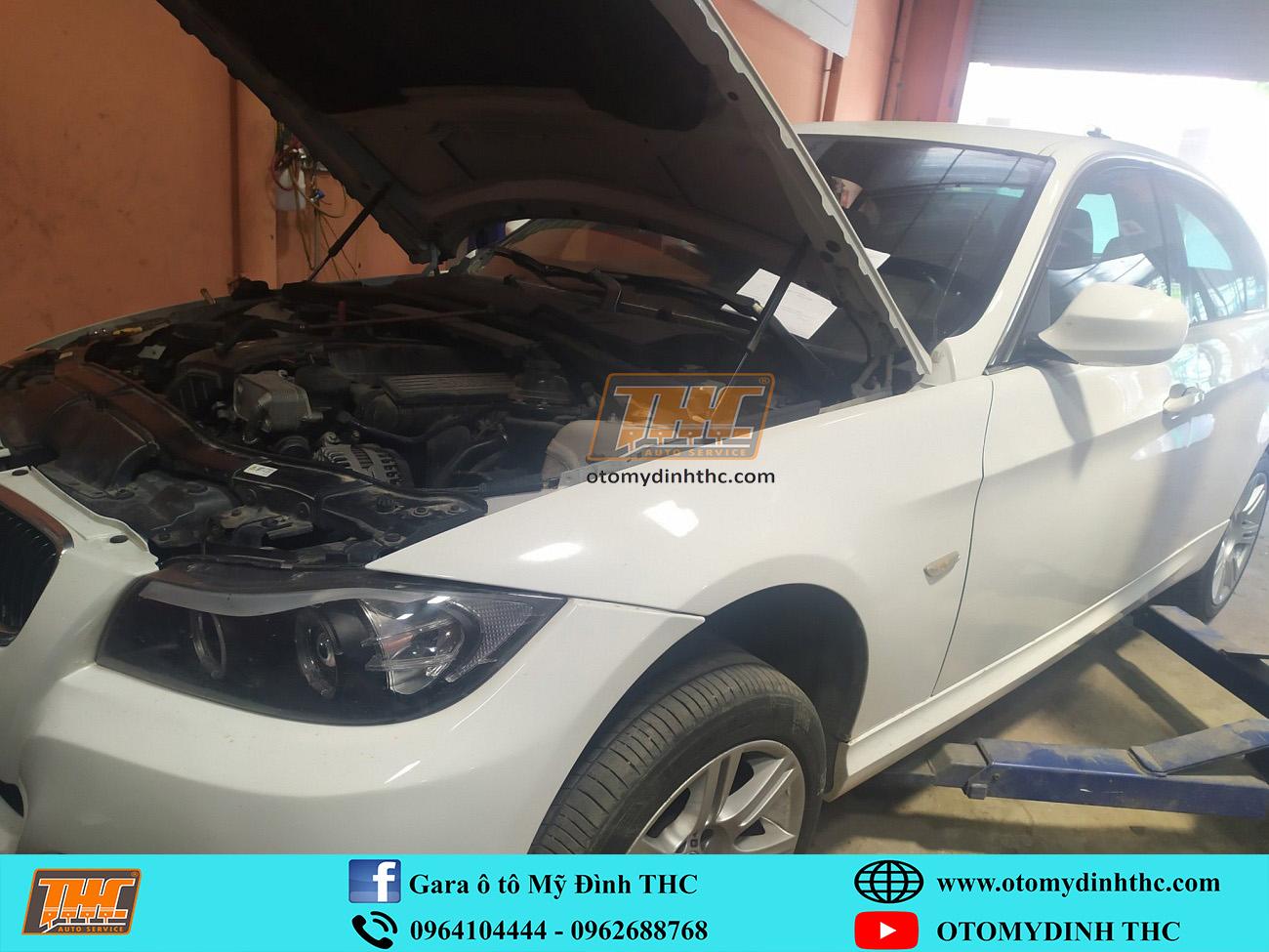 Gara chuyên sửa BMW tại Hà Nội, sửa chữa hư hỏng két nước làm mát