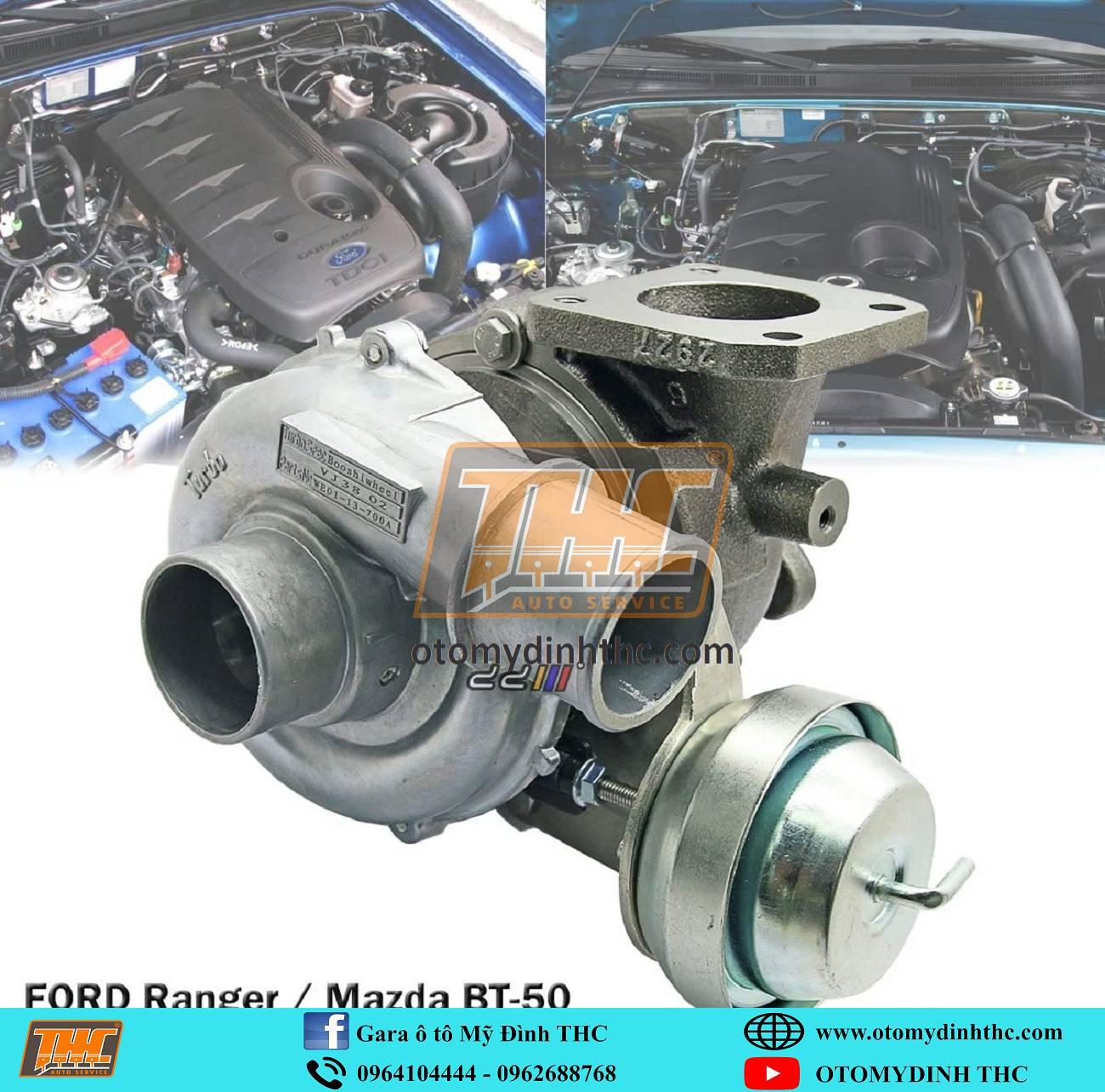 Sửa chữa Turbo cho động cơ máy dầu cho các dòng xe bán tải, suv - 7 chỗ tại Trung Tâm Kỹ Thuật Ô Tô Mỹ Đình THC