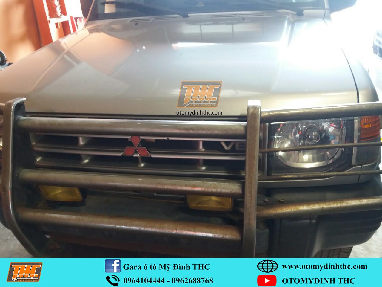 Sửa chữa xe Mitsubishi Pajero