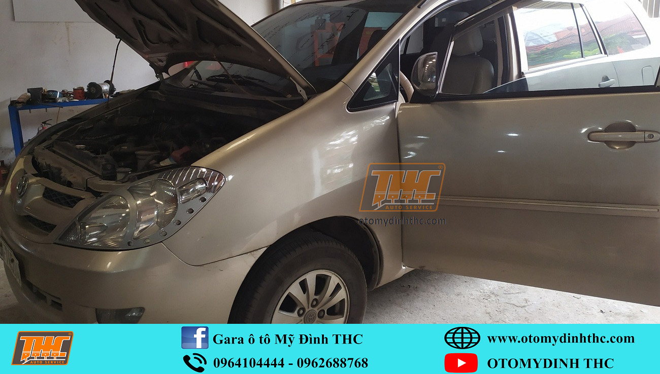 Sửa chữa xe Toyota Innova số sàn