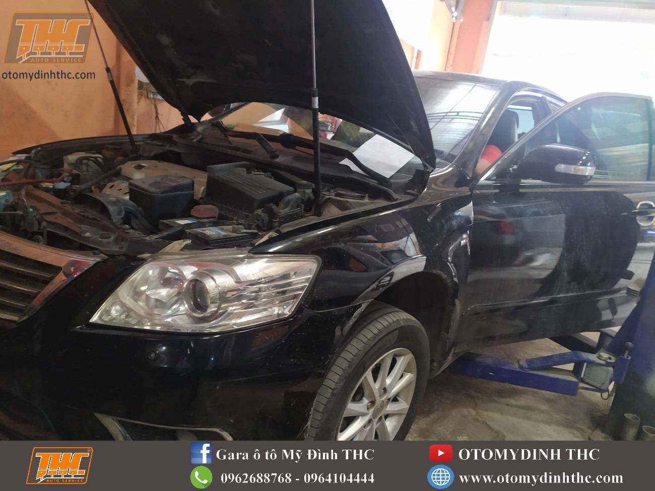 Sửa chữa điều hòa xe Toyota Camry