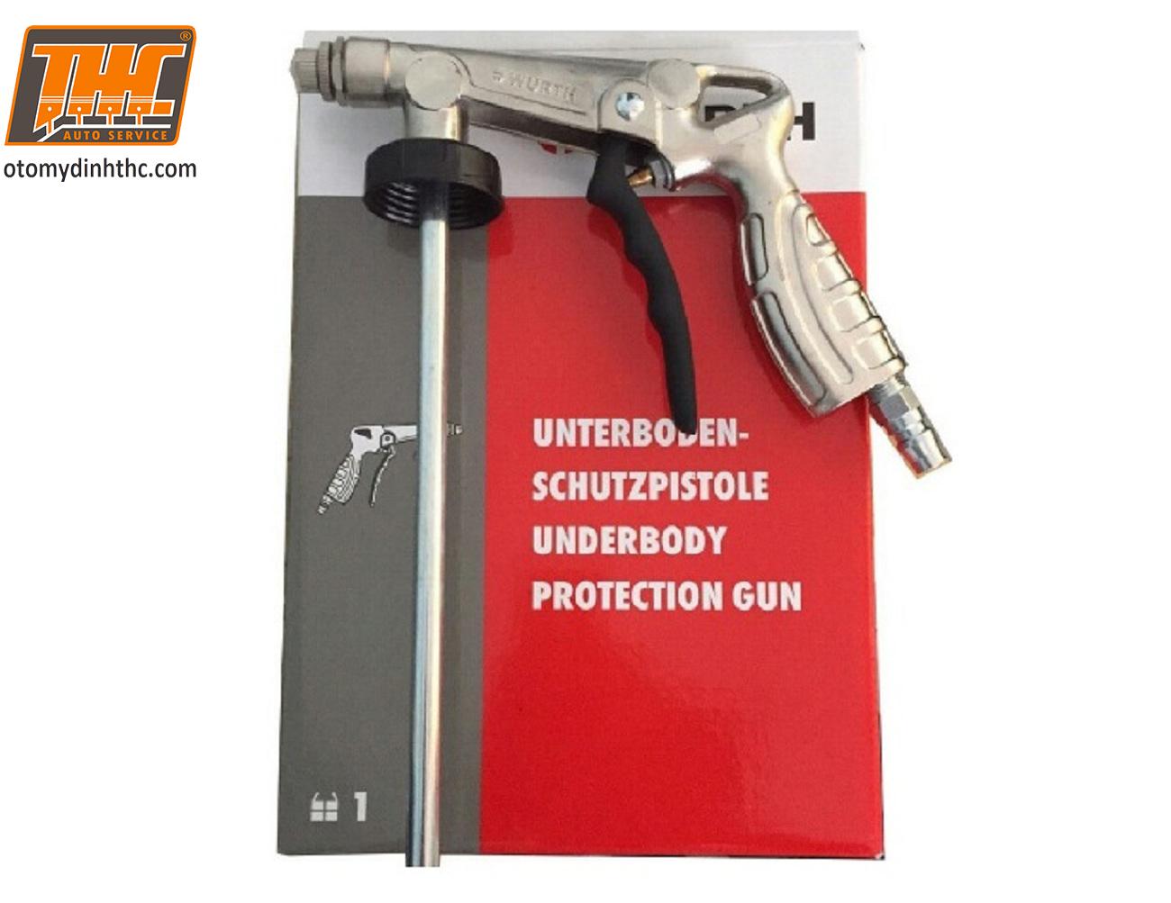 Hình ảnh súng sơn phủ gầm xe ô tô